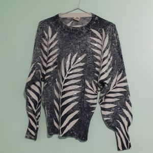 Super Soft 80's Angora+Wool Sequined Sweater